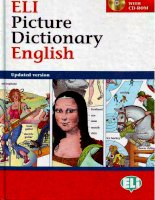 Eli picture dictionary english pot