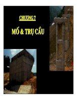 Thiết kế cầu bê tông cốt thép - Chương 7 pdf
