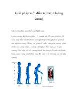 Giải pháp mới điều trị bệnh loãng xương ppt