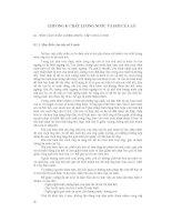 Chương 8: Chất lượng nước và hơi của lò ppt