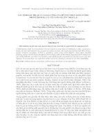Báo cáo khoa học : XÁC ĐỊNH GIÁ TRỊ pH VÀ HÀM LƯỢNG CỦA MỘT SỐ CHẤT DINH DƯỠNG TRONG DỊCH DẠ CỎ CÁC LOÀI GIA SÚC NHAI LẠI ppt