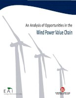 An Analysis of Opportunities in the Wind Power Value ChainEA IEnergy Alternatives pdf