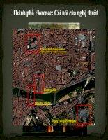 bài tập lịch sử đô thị  thành phố florence
