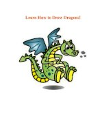 Learn How to Draw Dragons! pdf