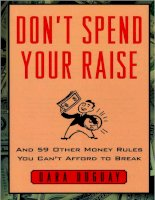 Don''''t Spend Your Raise doc