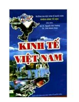 Giáo trình kinh tế Việt Nam potx