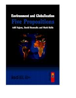 Environment and Globalization Five Propositions pdf
