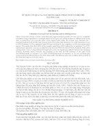 Báo cáo khoa học : SỬ DỤNG VỎ QUẢ CA CAO TRONG KHẨU PHẦN NUÔI VỖ BÉO BÒ TẠI ĐẮK LẮK pptx