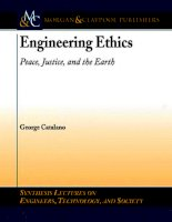 ENGINEERING ETHICS: PEACE, JUSTICE, AND THE EARTH docx