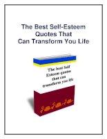 The Best Self-Esteem Quotes potx