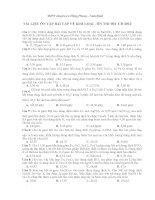 TÀI LIỆU ÔN TẬP BÀI TẬP VỀ KIM LOẠI - ÔN THI ĐH -CĐ 2012 potx