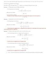 Một số dấu hiệu để nhận biết nhanh bài toán trùng nhau của hai hệ vân giao thoa pdf