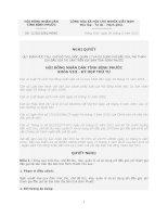 Ngfhị quyết Số: 12/2012/NQ-HĐND QUY ĐỊNH MỨC THU, CHẾ ĐỘ THU, NỘP, QUẢN LÝ VÀ SỬ DỤNG PHÍ ĐẤU GIÁ, PHÍ THAM GIA ĐẤU GIÁ TÀI SẢN TRÊN ĐỊA BÀN TỈNH BÌNH PHƯỚC potx