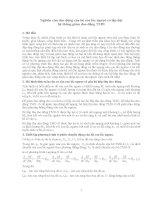 Nghiên cứu dao động của hệ con lắc ngược có lắp đặt hệ thống giảm dao động TMD pdf