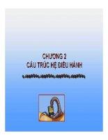 Bài Giảng Hệ Điều Hành-Chương 2: CẤU TRÚC HỆ ĐIỀU HÀNH pot