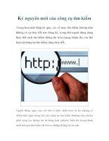 Kỷ nguyên mới của công cụ tìm kiếm docx