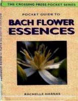 POCKET GUIDE TO BACH FLOWERS ESSENCES potx