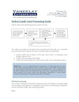 online credit card processing guide 2012 potx