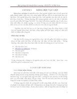 Bài giảng Kỹ thuật Đại cương (PGS.TS. Lê Bá Sơn) - Chương 1 KHOA HỌC VẬT LIỆU pot
