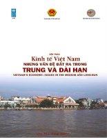 Kinh tế Việt Nam - Những vấn đề đặt ra trong trung và dài hạn pptx
