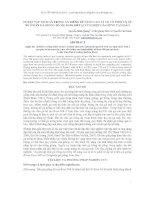 BÁO CÁO KHOA HỌC : LUYỆN TẬP TÍNH GÀ TRỐNG ĂN RIÊNG ĐÊ NÂNG CAO TỶ LỆ CÓ PHÔI VÀ ẤP NỞ Ở ĐÀN GÀ GIỐNG BỐ MẸ ROSS 308 TẠI XÍ NGHIỆP GÀ GIỐNG TAM ĐẢO pot