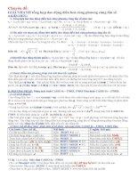 Chuyên đề: Giải nhanh tổng hợp dao động điều hoà cùng phương cùng tần số pot