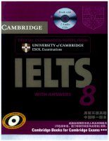 CAMBRIDGE IELTS WITH ANSWERS 8 docx