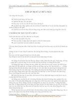 GIÁO TRÌNH CÔNG NGHỆ SỬA CHỮA MÁY - Bài 3 CHUẨN BỊ SỬA CHỮA MÁY doc