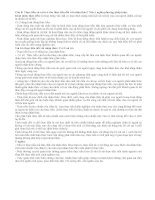 Câu 8: Thực tiễn và vai trò của thực tiễn đối với nhận thức.Nêu ý nghĩa phương pháp luận doc