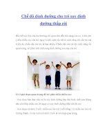 Chế độ dinh dưỡng cho trẻ suy dinh dưỡng thấp còi pdf