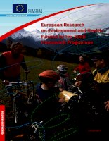European Research on Environment and Health Funded by the Sixth Framework Programme pdf