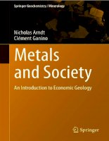 Metals and Society: an Introduction to Economic Geology ppt