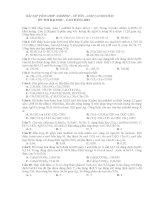 BÀI TẬP TỔNG HỢP ANĐÊHIT - XÊ TÔN - AXIT CACBOXYLIC docx