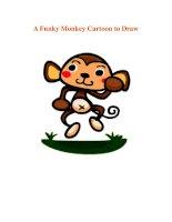 A Funky Monkey Cartoon to Draw pdf