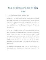 Đam mê điện ảnh và học tốt tiếng Anh pdf