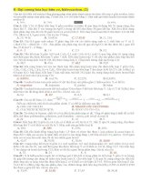 Đại cương hóa học hữu cơ, hiđrocacbon pdf