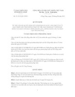 Quyết định Số: 31/2012/QĐ-UBND VỀ VIỆC BÃI BỎ QUYẾT ĐỊNH SỐ 01/2002/QĐ-UB NGÀY 14/01/2002 CỦA ỦY BAN NHÂN DÂN TỈNH ĐỒNG THÁP VỀ VIỆC BAN HÀNH QUY CHẾ HOẠT ĐỘNG CỦA BAN CHỈ ĐẠO CHỐNG BUÔN LẬU, CHỐNG HÀNG GIẢ VÀ GIAN LẬN THƯƠNG MẠI pot