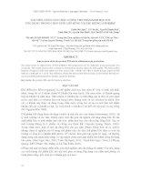 BÁO CÁO KHOA HỌC : CẢI TIẾN, NÂNG CAO CHẤT LƯỢNG CHẾ PHẨM SINH HỌC EM ỨNG DỤNG TRONG CHĂN NUÔI LỢN RỪNG VÀ CÁC GIỐNG LƠN KHÁC pdf