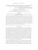 Báo cáo khoa học : CÁC BIỆN PHÁP LÀM KHÔ CỎ, NÂNG CAO GIÁ TRỊ DINH DƯỠNG CỎ KHÔ VÀ ỨNG DỤNG CÔNG NGHỆ CƠ KHÍ ĐÓNG BÁNH CỎ KHÔ (HỌ ĐẬU) docx
