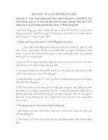 TÌM HIỂU VỀ LUẬT BÌNH ĐẲNG GIỚI pptx