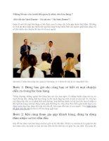 Những lỗi nào cần tránh khi quản lý nhân viên bán hàng potx