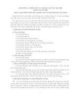 CHƯƠNG 6: THIẾT KẾ VÀ THÀNH LẬP CÁC BẢN ĐỒ KINH TẾ-XÃ HỘI pptx