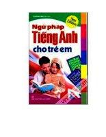 Tiếng Anh cho trẻ em ppt