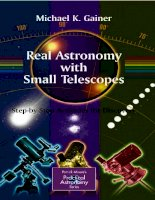 Real Astronomy with Small Telescopes doc