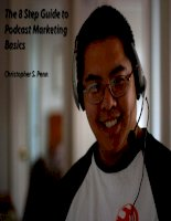 The 8 Step Guide to Podcast Marketing Basics pptx