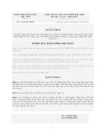 Quyết định Số: 1492/QĐ-NHNN VỀ VIỆC CÔNG BỐ DANH MỤC VĂN BẢN, QUY ĐỊNH DO NGÂN HÀNG NHÀ NƯỚC VIỆT NAM BAN HÀNH ĐÃ HẾT HIỆU LỰC THI HÀNH GIAI ĐOẠN TỪ NGÀY 01/01/2012 ĐẾN HẾT NGÀY 30/6/2012 pdf