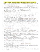 Nguyên tử, bảng tuần hoàn các nguyên tố hóa học, liên kết hóa học. pptx