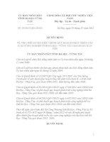 Quy định Số: 22/2012/QĐ-UBND VỀ VIỆC PHÊ DUYỆT ĐIỀU CHỈNH QUY HOẠCH PHÁT TRIỂN CÁC CỤM CÔNG NGHIỆP TỈNH BÀ RỊA - VŨNG TÀU GIAI ĐOẠN 2012-2020 potx