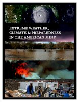 extreme weather, climate & preparedness in the american mind pdf