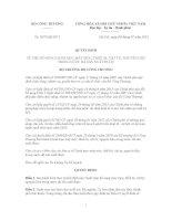 Quyết định Số: 3879/QĐ-BCT VỀ VIỆC BỔ SUNG DANH MỤC MÁY MÓC, THIẾT BỊ, VẬT TƯ, NGUYÊN LIỆU TRONG NƯỚC ĐÃ SẢN XUẤT ĐƯỢC pdf
